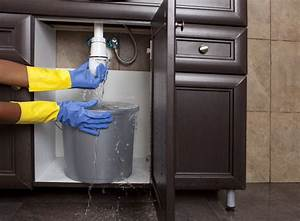 What To Do About A Leak Under The Sink