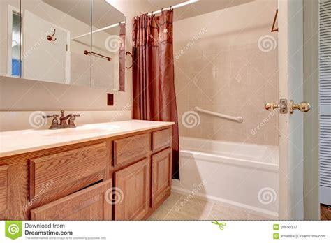 light pink bathroom royalty free stock photography image