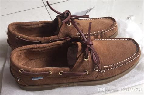 High Top Boat Shoes Mens by Wholesale Suede Sperrys Top Sider Loafers Boat