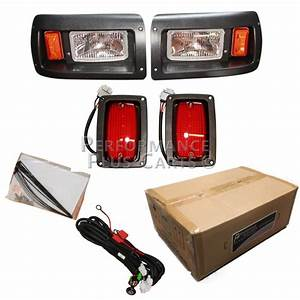 Club Car Ds Golf Cart Headlight And Tail Light Kit With