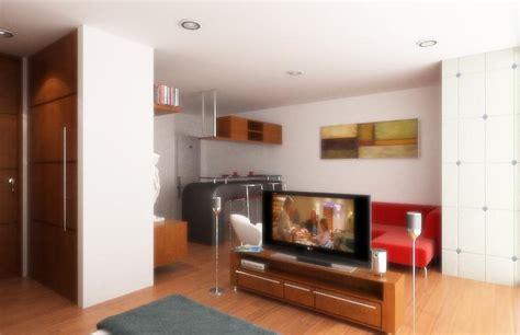 diseno de apartamentos pequenos tipo estudio modernos
