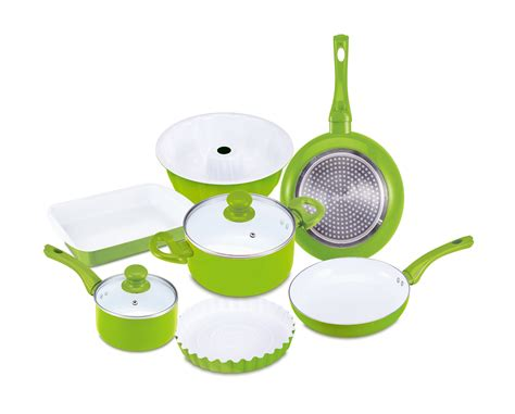 batterie de cuisine ceramique renberg rb 1245 ceramic cookware set 9 pcs renberg rb