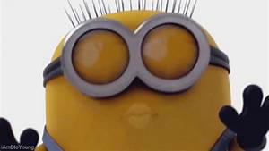 Minion Banana Gaze Stare Despicableme GIFs - Find & Share ...