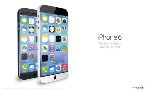 new iphone 6 iclarified apple news iphone 6 concept featuring ios 7