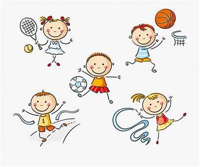 Exercise Clipart Cartoon Clip Physical Education Sport