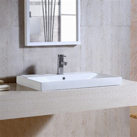 Table / Semi Counter Mounted Wash Basin   1609   Aquant