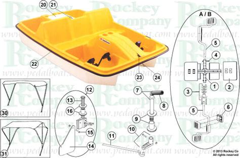 Sun Dolphin Paddle Boat Manual by Parts From Www Pedalboat