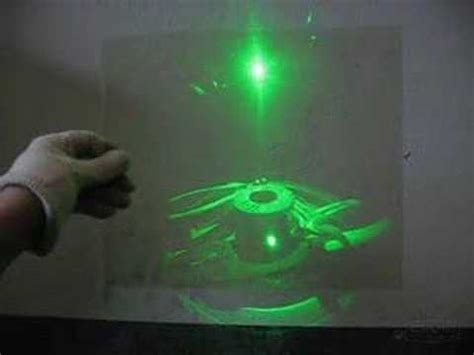 transmission laser pointer hologram youtube