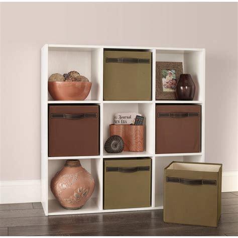 closetmaid cubeicals 9 cube organizer white shelves stackable display closetmaid cubeicals 9 cube