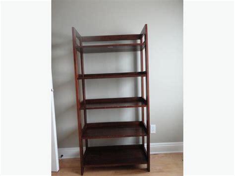 pier one bookcase pier 1 folding bookcase parksville nanaimo