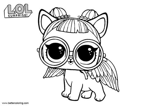 Lol Pets Kleurplaat by Lol Pets Coloring Pages Sugar Pup Free Printable
