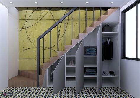 cuisine sous escalier rangement sous escalier nantes l 39 intérieur architecte d