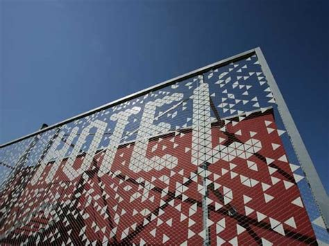 tensile creates striking facade  swiss hotel featuring