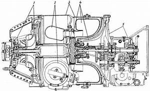 Ge Lm2500 Gas Turbine Engines Cutaway Exploded And Cool
