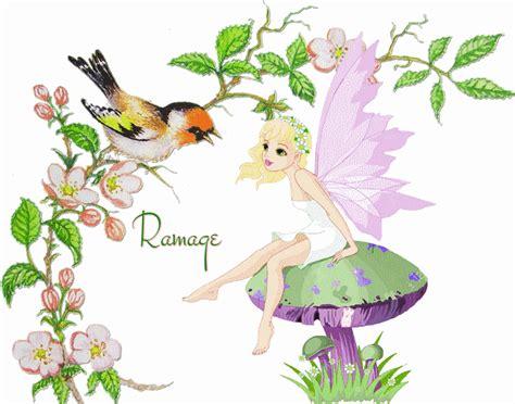 carte printemps anim 233 e ramage oiseau f 233 e gif printemps