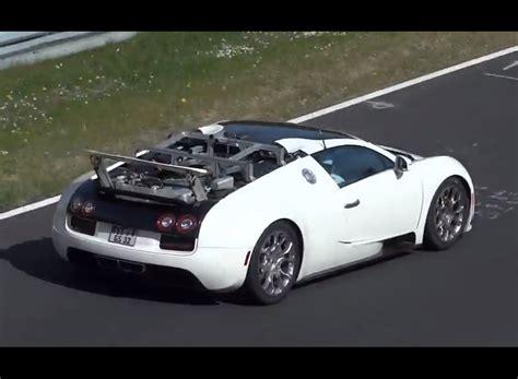 New Bugatti Veyron Prototype Spotted, Hybrid