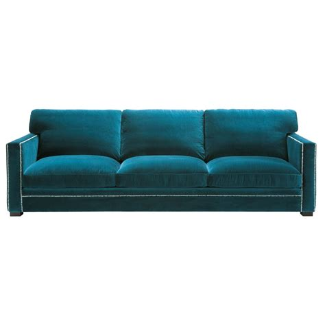 canapé payable en 10 fois sans frais canapé 4 5 places en velours bleu dandy maisons du monde