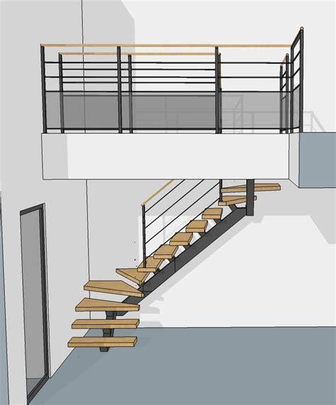 Votre Plan D'escalier En 3d Avec Le Bureau D'étude Divinox