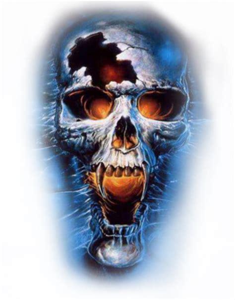 13 Scary Skull Psd Images  Scary Skull Mask, Blue Evil