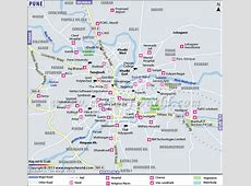 Pune Map, City Map of Pune