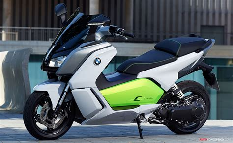Bmw C Evolution Electric Motorcycle by New All Electric Motorcycle From Bmw The C Evolution