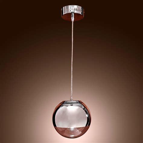 led glass pendant lights modern pendant lights mirror glass ball vacuum led pendant