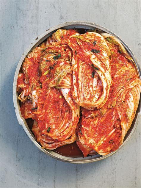 chinese leaf kimchi baechu kimchi recipes sbs food
