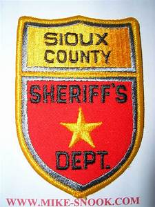 Mike Snook's Police Patch Collection - State of North Dakota