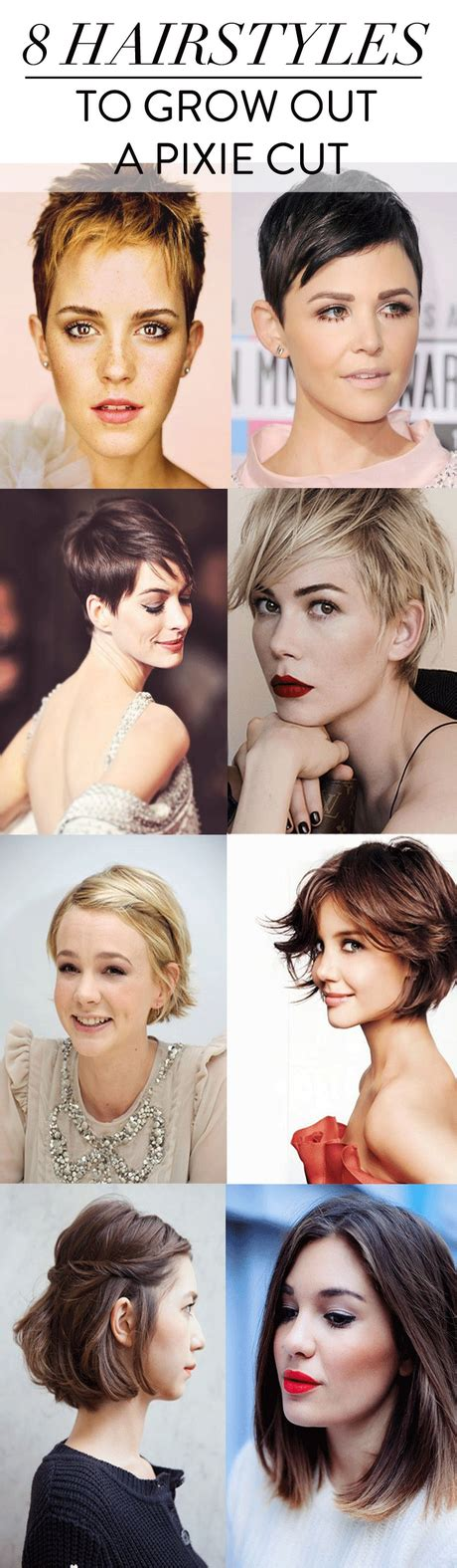 Growing Out A Pixie Cut Hairstyles by Growing Out A Pixie Cut Stages