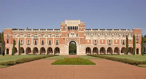 rice university university houston texas united