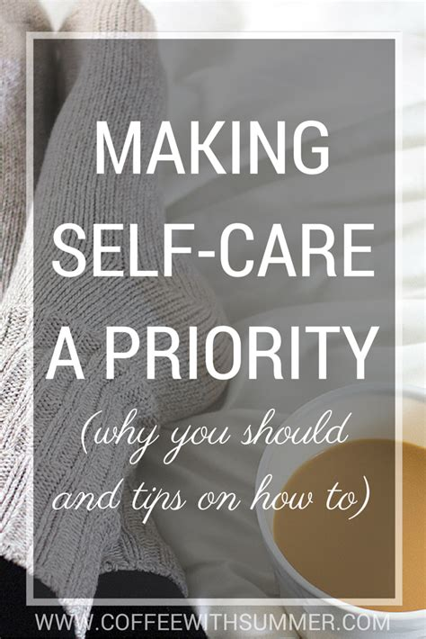 making  care  priority    tips