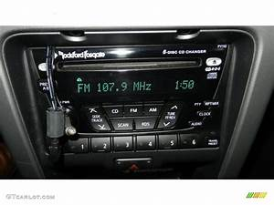2004 Nissan Xterra Se Supercharged 4x4 Audio System Photo