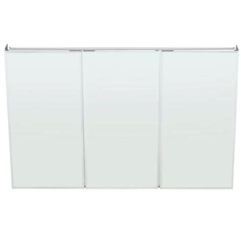 medicine cabinets with mirrors at lowes kohler tri mirror medicine cabinet size choices and