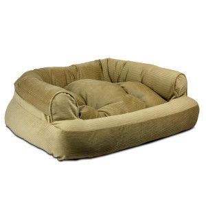 Snoozer Overstuffed Sofa Pet Bed by Snoozer Overstuffed Sofa Pet Bed Beds Petsmart Pets