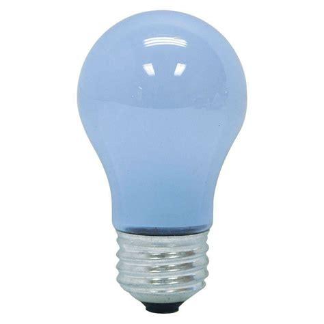 reveal light bulbs ge reveal 40 watt incandescent a15 ceiling fan light bulb