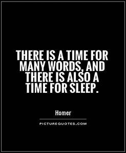 Quotes About Sl... Sleeping Time Quotes