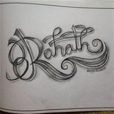 tattoo design  zainab entangled letters