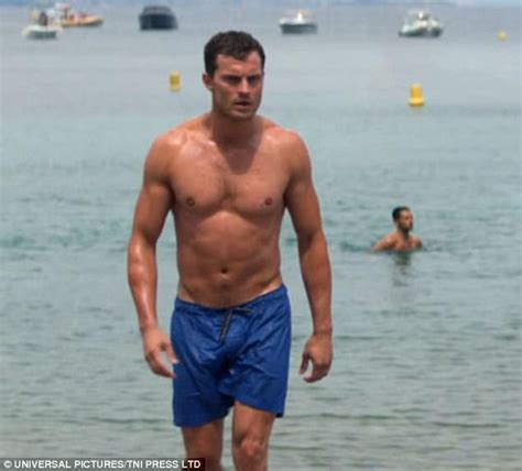Jamie Dornan shows off buff physique in Fifty Shades Freed