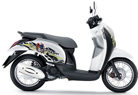 honda thailand luncurkan new scoopy i stripping baru mercon motor