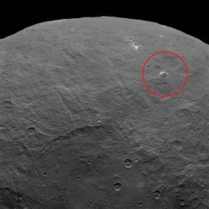 Ceres Shows Off a 'Pyramid' Mountain and Those Puzzling ...