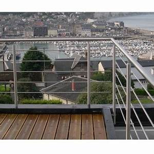 Garde Corps Inox En Kit : garde corps inox en kit 5 barres l 39 anglaise rampe escalier terrasse balcon mezzanine ~ Melissatoandfro.com Idées de Décoration