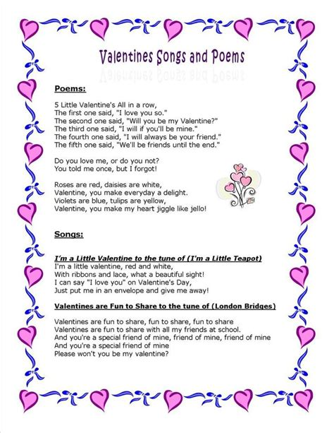 1098 best images about children s songs and poems on 340 | b8d7577536b2776bec6a1afc038f9c32 valentine poems valentine party
