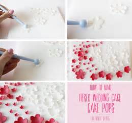 hochzeitstorte fondant tutorial how to make tiered wedding cake cake pops niner bakes