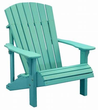 Chair Adirondack Beach Clipart Outdoor Transparent Chairs