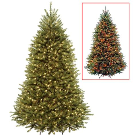 7 5 ft christmas tree with 1000 lights national tree company 7 5 ft powerconnect dunhill fir