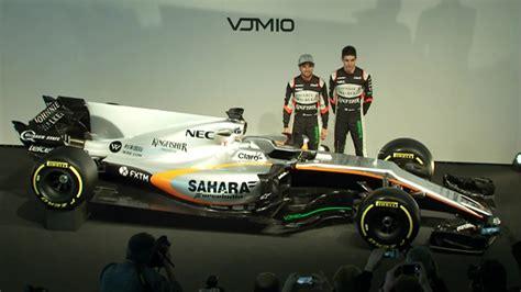 Vjm10 El Monoplaza De Force India Para La Frmula 1 2017
