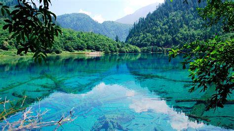 Berg, See, Wald, Wasser Reflexion 1920x1080 Full Hd 2k