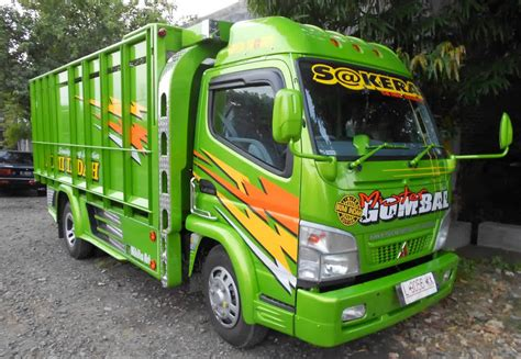 Donloaf Mobil Truk Kanter by Inilah Foto Modifikasi Mobil Truk Mitsubishi Canter