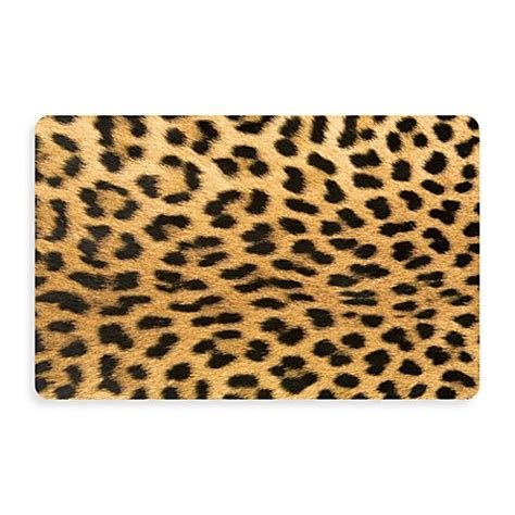 Bungalow Flooring New Wave 18inch X 27inch Leopard Door