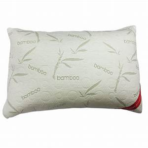 shredded memory foam pillow micro vented bamboo cover With best bamboo pillow brand